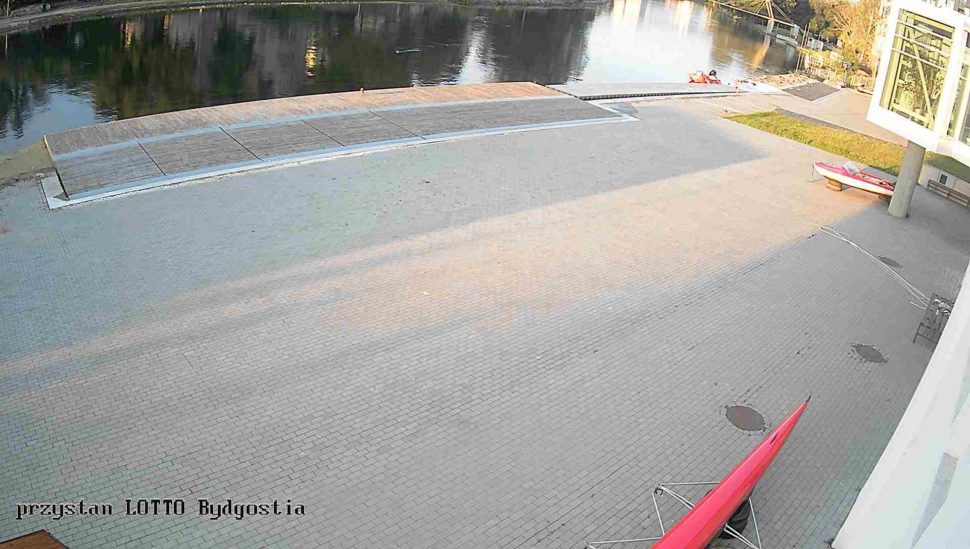 webkamera na przystani LOTTO-Bydgostia